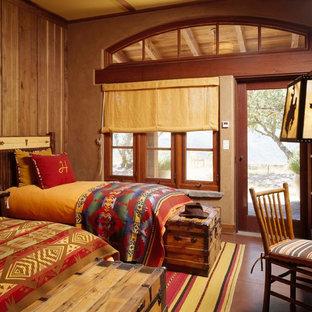 Exemple d'une chambre d'enfant de 4 à 10 ans sud-ouest américain.