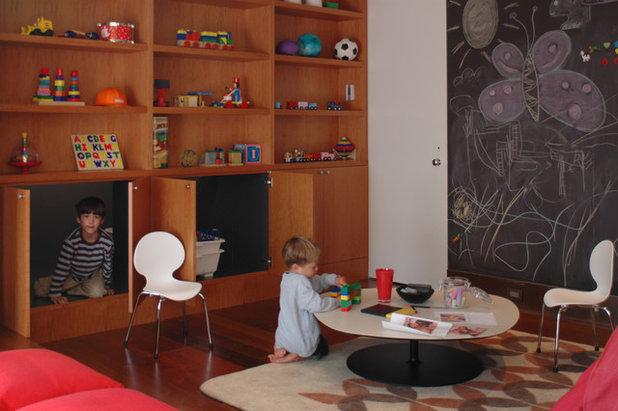 Современный Детская by Cary Bernstein Architect