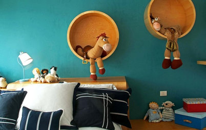 Out-of-the-Box Shelves for Your Kids
