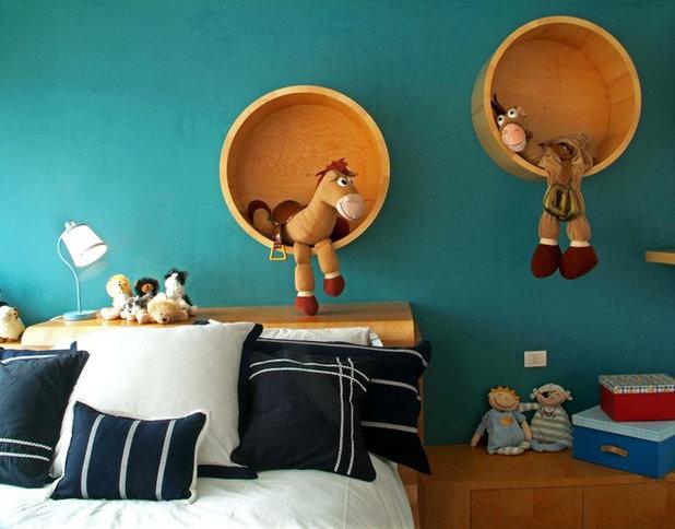 Contemporary Kids by DIN Interiorismo