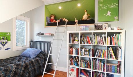 10 astuces pratiques pour aménager une chambre d'enfant sous les toits