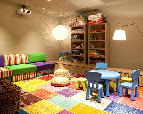 salle de jeux d 39 enfant avec moquette barcelone photos et id es d co de salles de jeux d 39 enfant. Black Bedroom Furniture Sets. Home Design Ideas