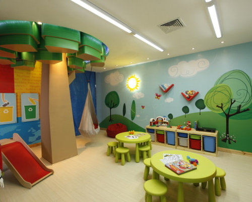 Playroom Mural Home Design Ideas Pictures Remodel And Decor