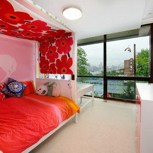 Immagine di una cameretta per bambini moderna