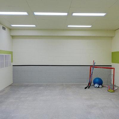 Example of a classic concrete floor playroom design in Minneapolis