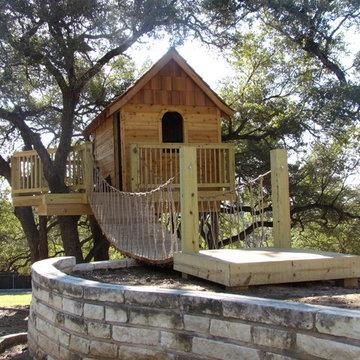 Cedar Shake Tree House