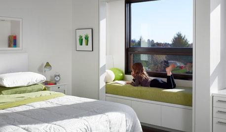 Espaces difficiles : Les fenêtres se transforment en banquettes