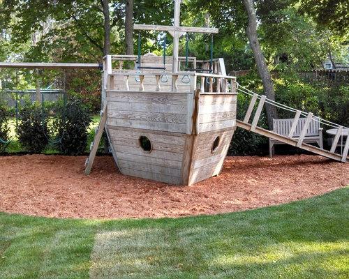 Backyard Pirate Ship | Houzz