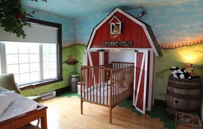 E Se i Bebè si Meritassero più di Rosa e Azzurro? 8 Nursery Creative