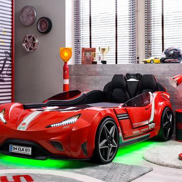 Champion GTI Racer Kids Bedroom car bed