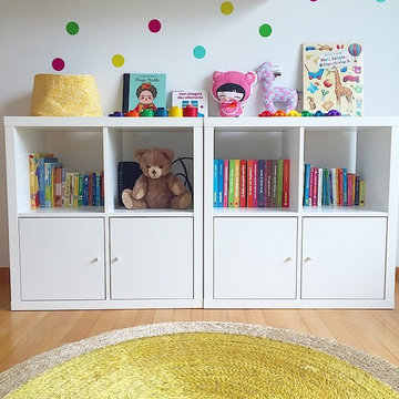 Charlize's Bedroom - A makeover using pops of colour