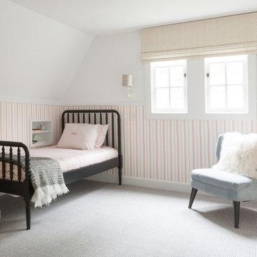 Cheerful Pastel Girl's Bedroom