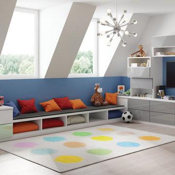 Cheery Attic Playroom