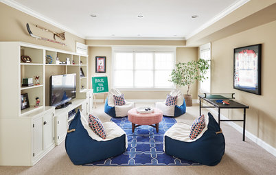 Before and After: A Sporty New Hangout for a Family of 4