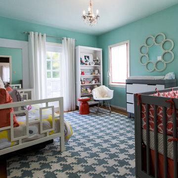 Chic and Modern Nursery