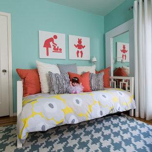 Kids' room - contemporary girl kids' room idea in San Francisco