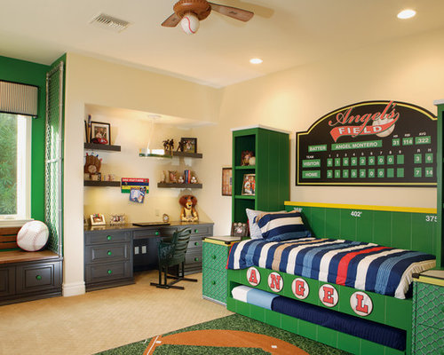 Baseball bedroom home design ideas pictures remodel and for Boys baseball bedroom ideas