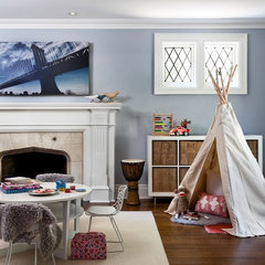 eclectic kids by Sara Bederman Interior Design