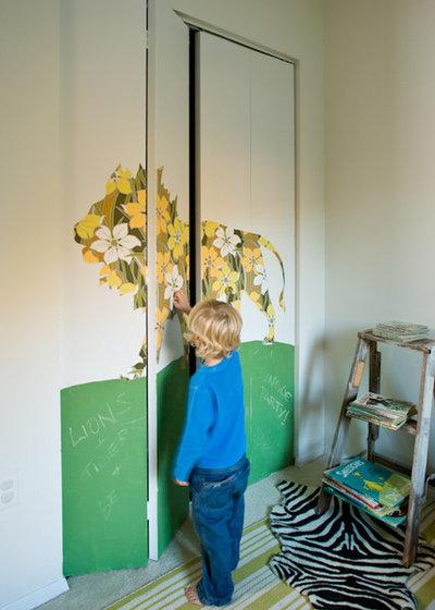 Éclectique Chambre d'Enfant by Lauren Liess Interiors