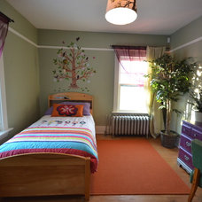 Eclectic Kids Child's Bedroom Makeover