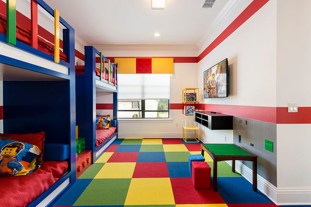 Contemporary Kids by Suzanne Nichols Design Group, Inc.