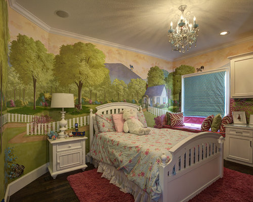 Kids room mural houzz for Mural kids room