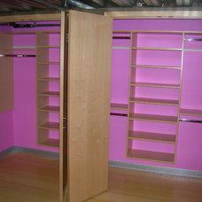 Contemporary Closet by Closets For Life
