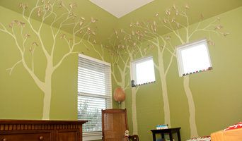 Children's room forrest