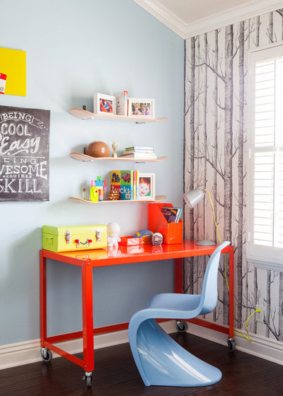 Contemporary Kids Childrens Room