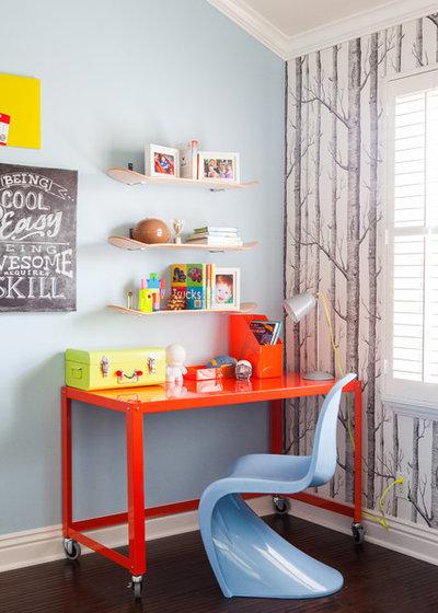 Contemporain Chambre d'Enfant Childrens Room