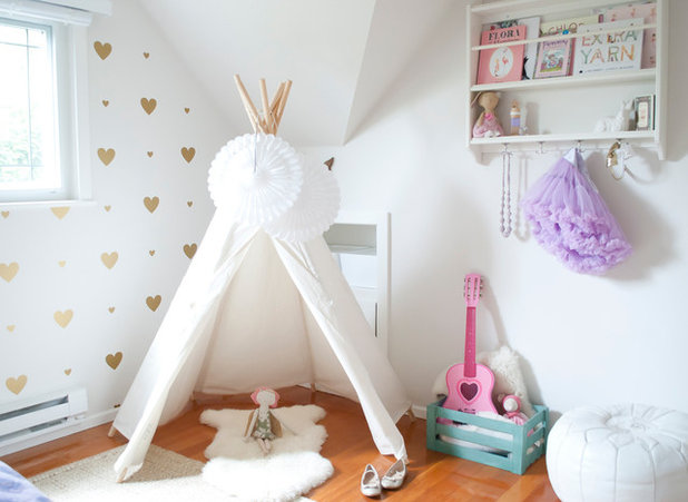 Skandinavisk Barnrum by WINTER DAISY: interiors for children