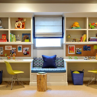 Classic Contemporary Kids Study Space