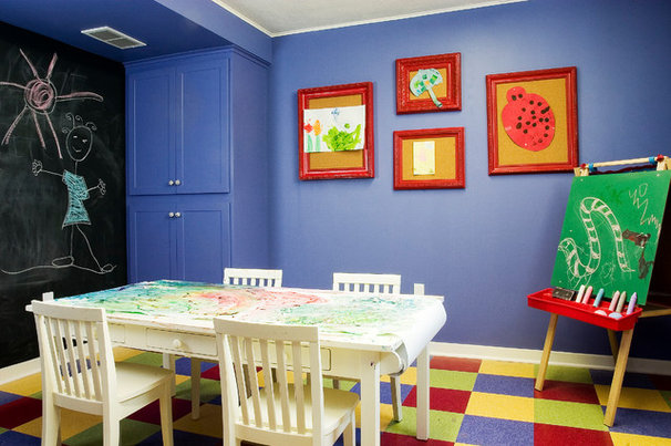 Traditional Kids by Sicora Design/Build