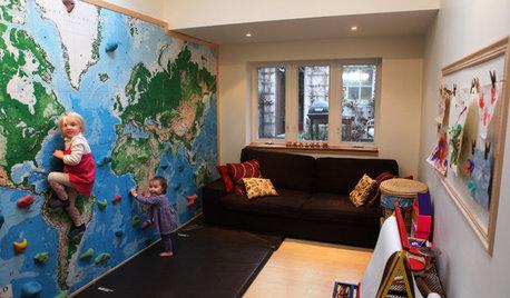 Si Vive Una Volta Sola: Mini Parete d'Arrampicata Indoor per Bambini