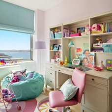 Traditional Kids by Frances Herrera Interior Design