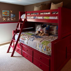 Traditional Kids by Coastal Interiors