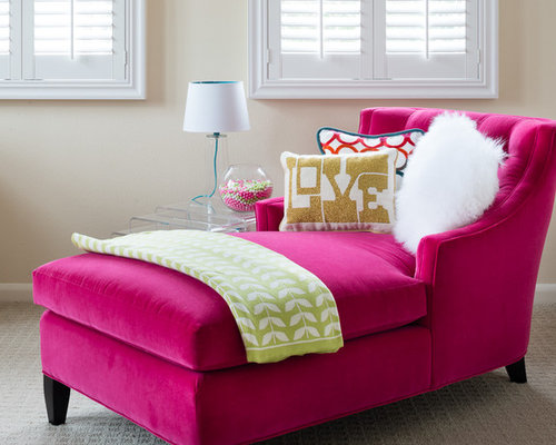 Pink Chaise Lounge Home Design Ideas Pictures Remodel