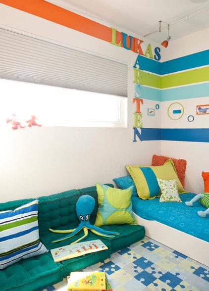 Midcentury Kids by Kropat Interior Design
