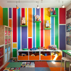 Midcentury Kids by Kropat Interior Design