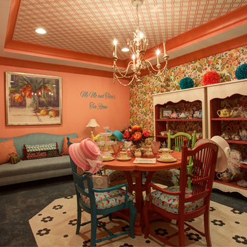 Colorful Tea Party Space