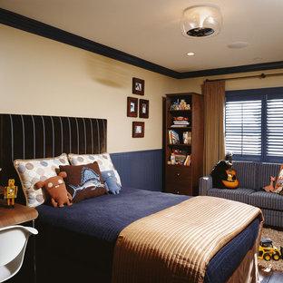ロサンゼルスのコンテンポラリースタイルのおしゃれな男の子の部屋の写真