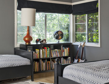 Contemporary Boys Bedroom