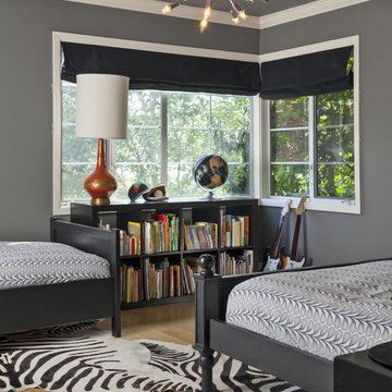 Contemporary Boys Bedroom
