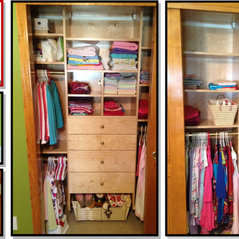 Contemporary Kids Closet
