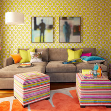 Contemporary Kids by ScavulloDesign Interiors