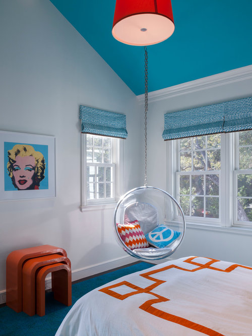 Teal and orange home design ideas pictures remodel and decor - Orange and teal decor ...