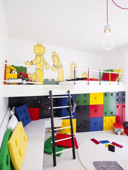Cool kids room houzz for Houzz kids room