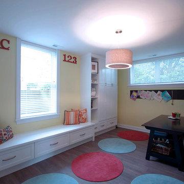 Contemporary Play Room