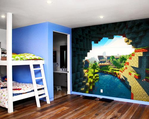 Chambre D 39 Enfant Minecraft Photos Et Id Es D Co De Chambres D 39 Enfant