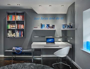 Contemporary Teenager's Bedroom